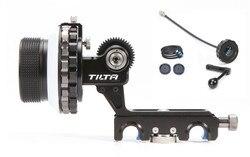 Tilta 3 DSLR Follow Focus Kit Hard stop 15mm/19mm Rod clamp + Crank handle + 40mm whip for 5D2/5D3/D800