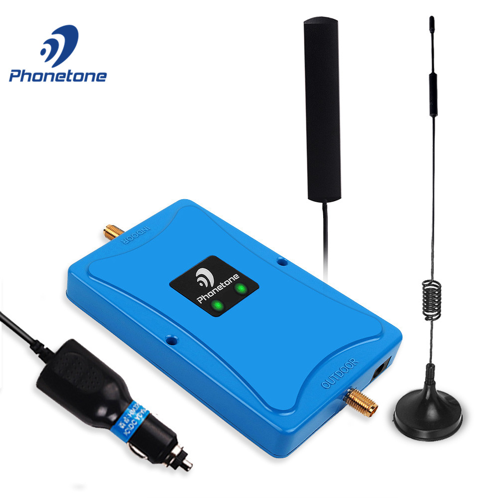 Car Use Cellular Signal Booster 4G LTE Band 20 Band 7 800/2600MHz Gain 45dB Communication Amplifier Data Repeater For Truck Boat