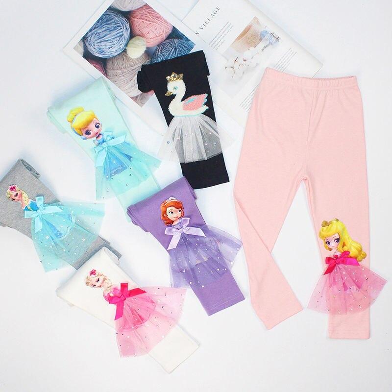 Kleinkinder Mädchen Legging Mode Prinicess Elsa Hosen Neue Mode Baby Mädchen Kleidung Hosen Herbst Baumwolle Tragen Kleidung