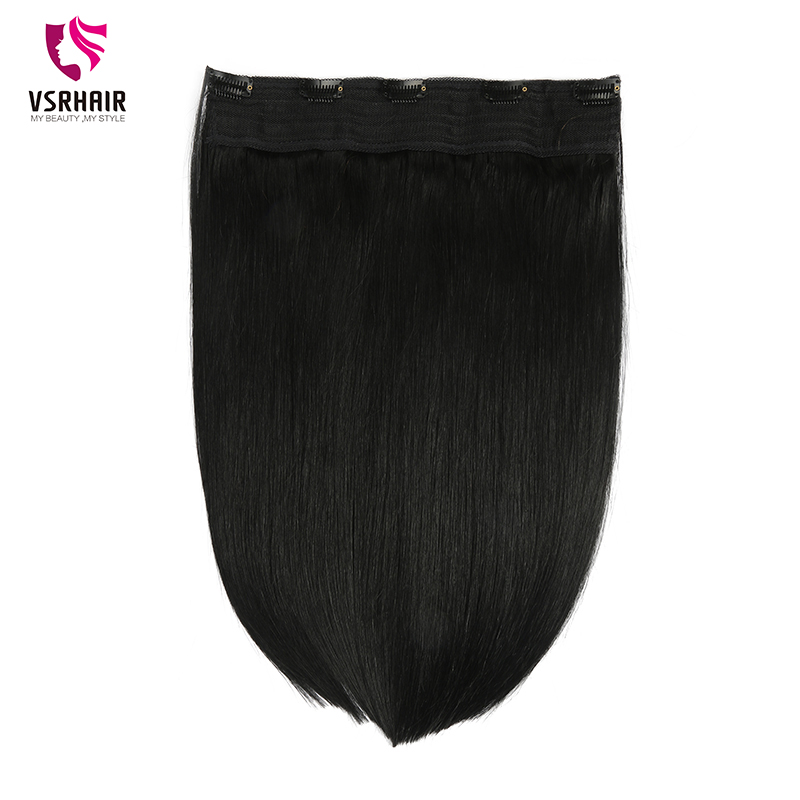 VSR 200g 24inch Clip Human Hair Easy Do Clip Ins Quality Hair Ends Machine Remy Hair Style 24inch Halo Hair Extension