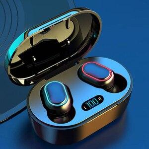 Wireless bluetooth Earphones mini ultra small driving sports ear type oppo for apple vivo Huawei universal earplugs(China)