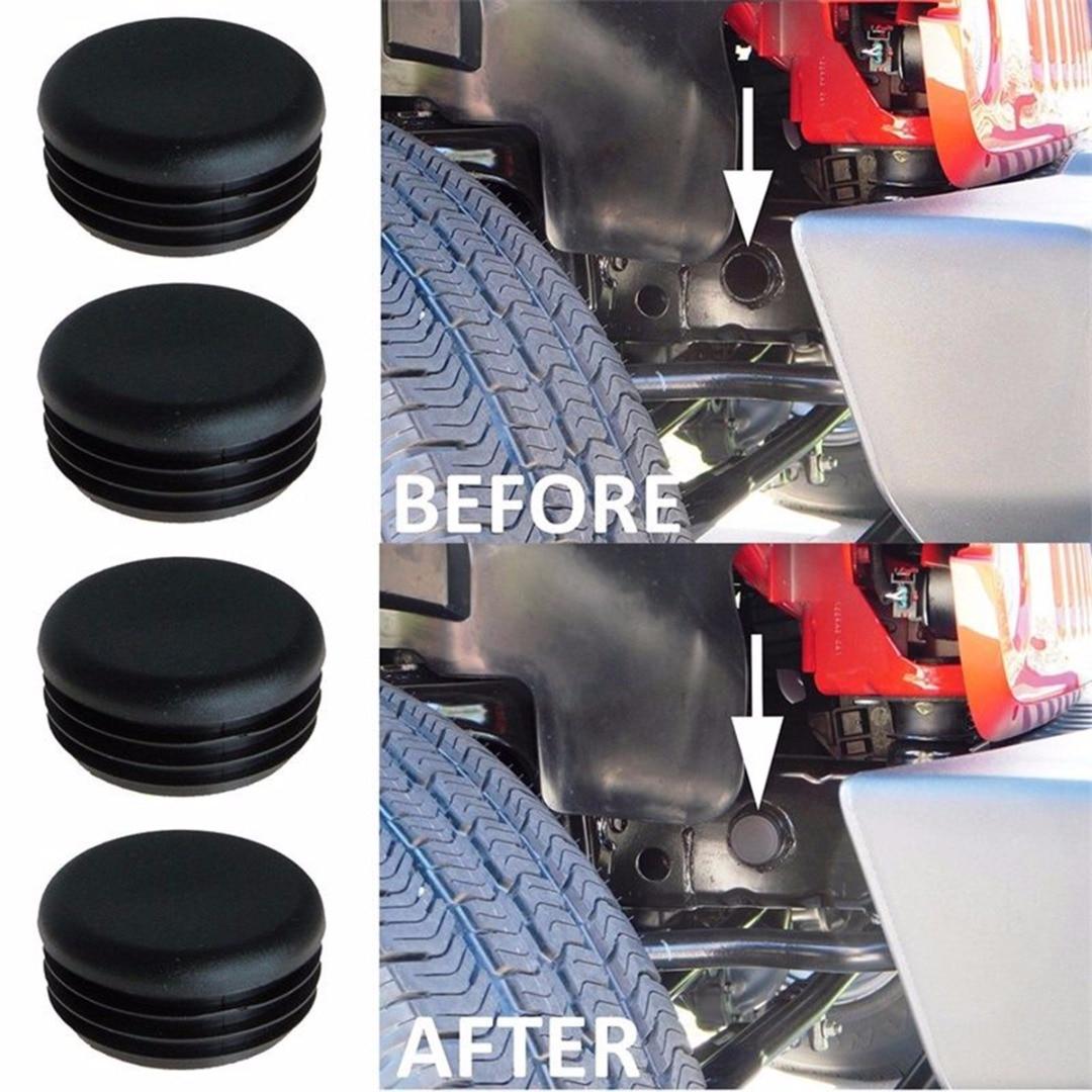 4pcs/set Frame Hole Cover Plug Keep Out Mud For Jeep Wrangler JK 2007-2017