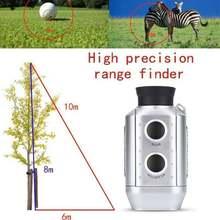 Portable golf 850m 7x18 digital rangefinder hunting finder outdoor