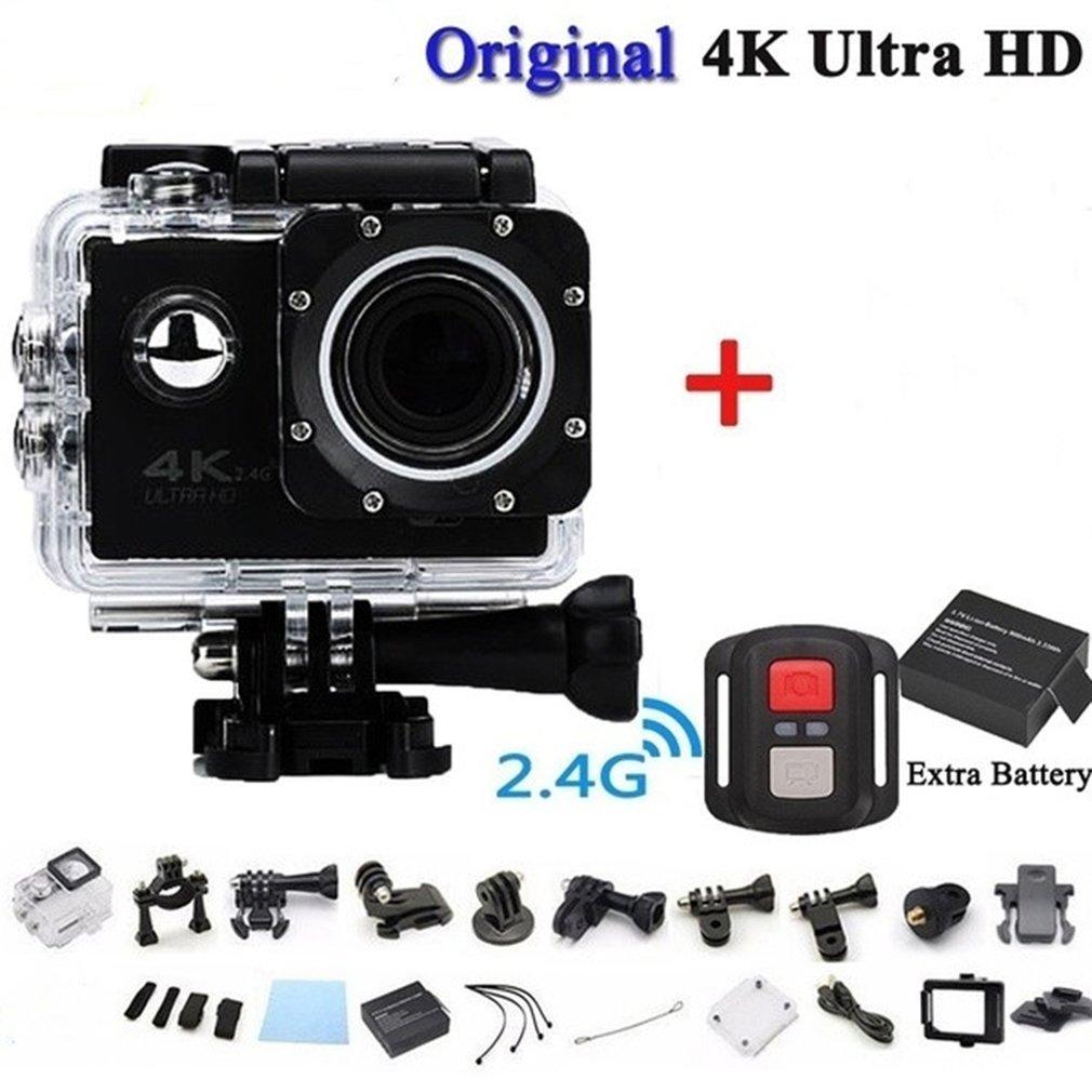 H75e5d0cd775c47a2882a9e0d9e690a1e9 Pro Cam Sport Action Con Telecomando Camera 4k Videocamera Wifi Ultra Hd 16mp DVR Sports Outdoor Diving Bicycle Camcorder