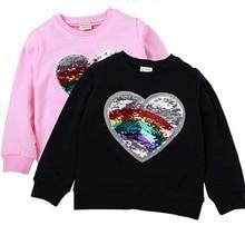 Свитшоты для маленьких девочек детские толстовки с капюшоном для девочек и подростковая Верхняя одежда свитер с длинными рукавами футболка для мальчиков