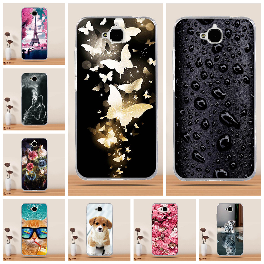 Case For Huawei Honor 4c Pro Case Cover For Huawei Honor Y6 Pro Case 3D Silicon Soft Cover For Huawei Y6 Pro Holly 2Plus Enjoy 5