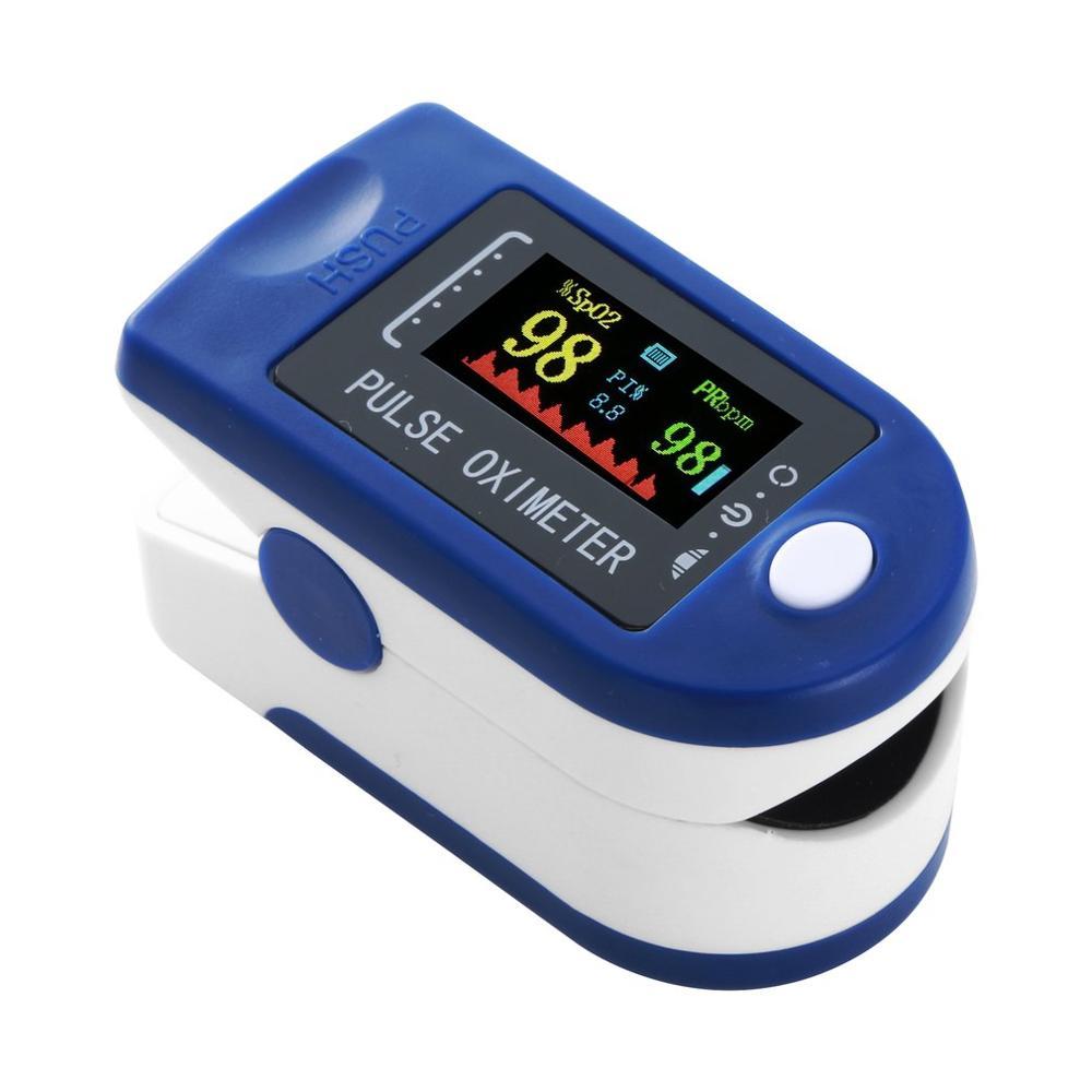 OLED палец клип пульса и уровня кислорода в крови, PR кислород в крови из пальца насыщенность Метр Низкая Напряжение SPO2 сердечного ритма для ко...
