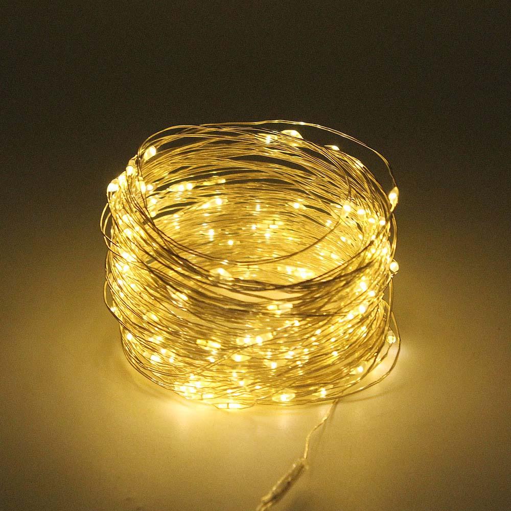 cheapest ROPIO LED Diamond Shape Fairy String Light 1 5m 3m 10 20 LEDs Retro Iron Metal Wedding Party Home Decoration Lantern String Lamp