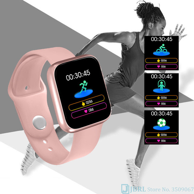 New Smartwatch For Android IOS Fitness Tracker Silicone 3