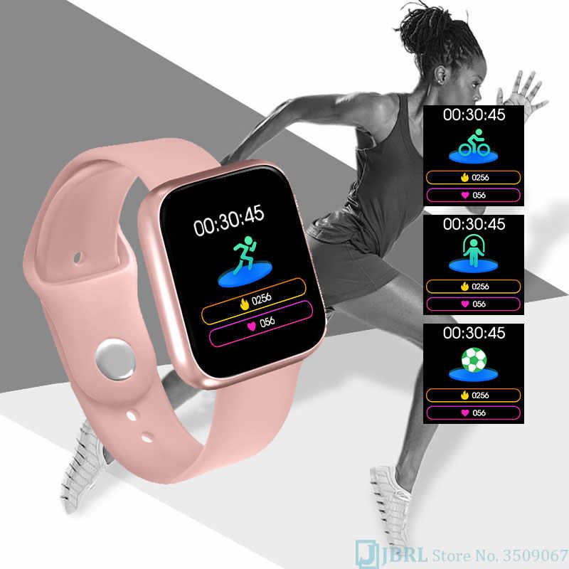 Nuovo Smart Watch donna uomo Smartwatch per Android IOS elettronica Smart Clock Fitness Tracker cinturino in Silicone Smart-watch ore