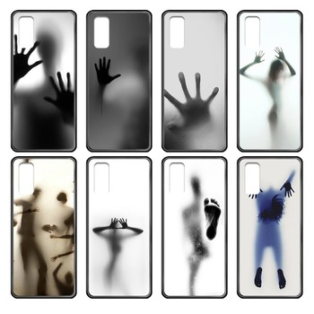 white simple horror sexy art black Phone case cover hull For Samsung Galaxy J S 1 2 3 4 5 6 7 8 9 10 Ace Prime Plus Lite Edge image