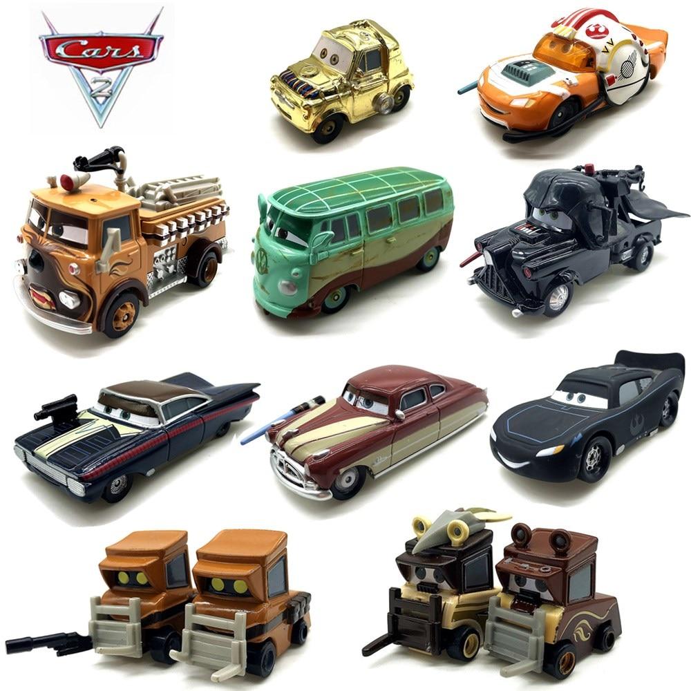 New Disney Pixar Cars 3 2 Star Wars Series  Lightning Mcqueen 1:55 Metal Diecast Toys Cars Model For Kids Gift