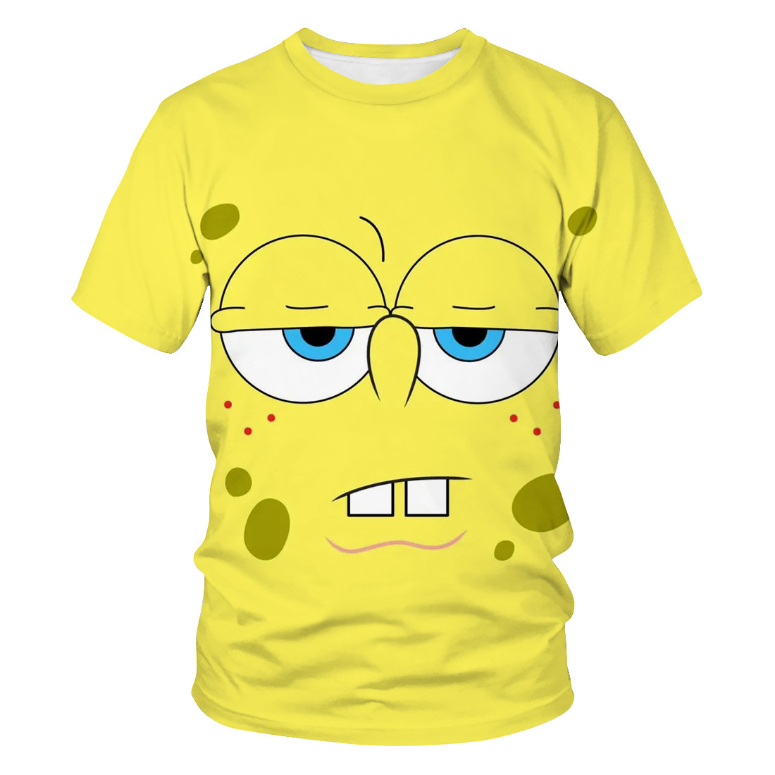 2020 New 3D Printing Cute SpongeBob T-shirt Men 3DT Shirt Women 3DT-Shirt Cute Casual Top T-shirt