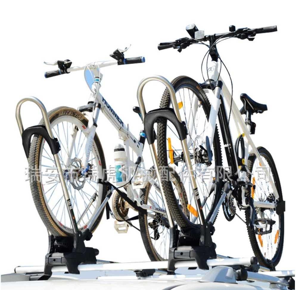 Aluminum Bike Bicycle Rack Carrier Suction Roof-top Quick Installation Roof Rack