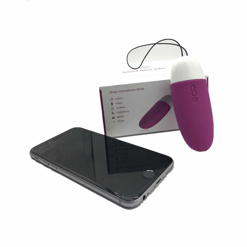 Magic Motion APP Bluetooth Clitoride Vibratore di Controllo Intelligente Mini Vibe Stimolare Uovo di Vibrazione Massager Della Vagina Giocattolo Del Sesso per la Donna