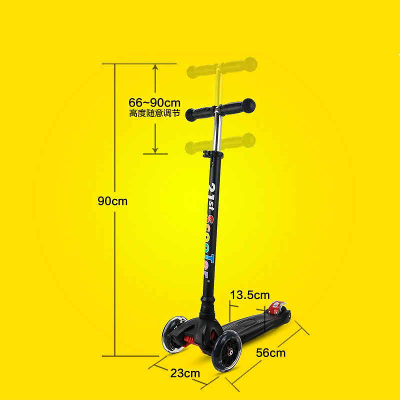 Bicicleta Infantil 21st Skuter Flash Wheel Anak 3-12 Tahun Di Luar Ruangan Mainan Bayi Roda Tiga Roda Anak Sepeda Slide Naik pada Mainan