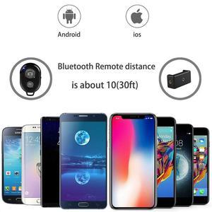 Image 4 - Tripé com bluetooth e controle remoto para celular, tripé para celular, tripé para câmera, suporte para selfie, liberação do obturador