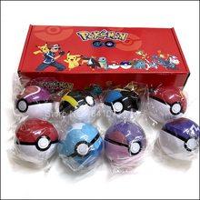 Original pokemon pokeball brinquedos genuíno pokeball com cinto bonecas figura de ação modelo brinquedos para crianças com caixa