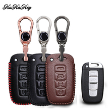 Etui clés de voiture en cuir pour Kia Chi Ran K2 Furui Di k5 pour Hyundai longue mouvement IX35 Sonata 8 accessoires de style de boîtier