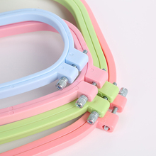 4pcs Embroidery Hoops Frame Set Square Shape Embroidery Hoop Rings for Sewing DIY Cross
