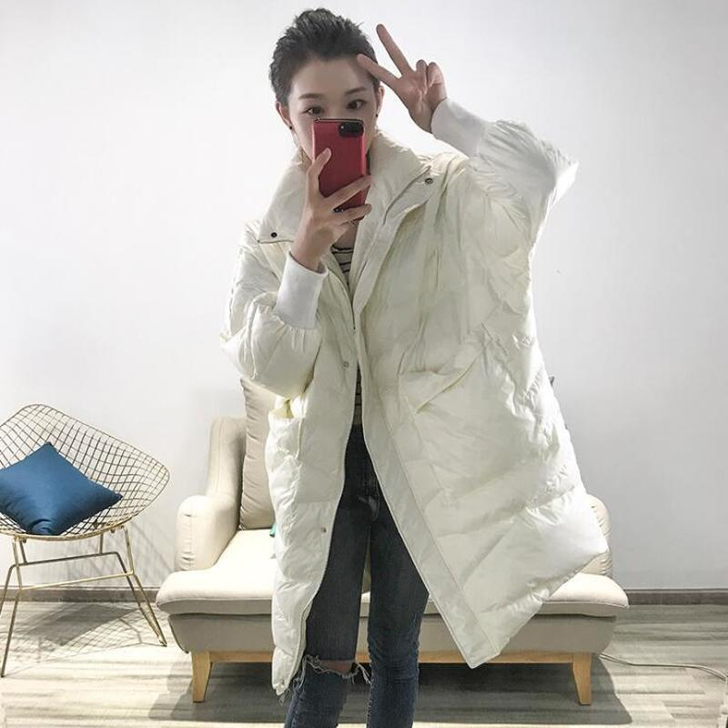 Duck White Korean Down Jacket Women Winter Coat Women Down Coat Puffer Jacket Warm Parka Chaqueta Mujer Lxqd350 YY1497