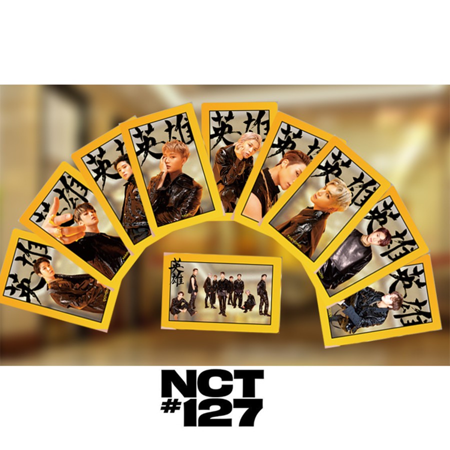 Kpop NCT127 Neo Zone PVC Clear Photo Card New Album Photocard Photograph 1pc