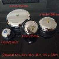 Традиции Электрический беспроводной дверной звонок 2/3/4/6 дюймов 12V 24V 48V 110V 220V высокой дБ сигнальный звонок высокое качество дверной звонок ш...