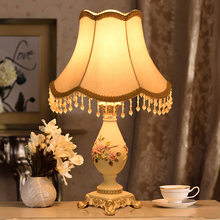 Chinese Classical Lamp Home Decor Table Lamp Fabric Bedroom Bedside Lamp Table Lights Princess Garden Wedding Study Table Lamps table lamps princess modern minimalist bedroom bedside lamp wedding garden