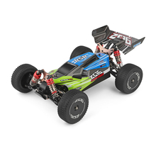 WLtoys 1/14 144001 RTR 2.4GHz RC Car Scale Drift Racing Car 4WD Metal Chassis Gear Hydraulic Shock Absober USB Charging Vehicle