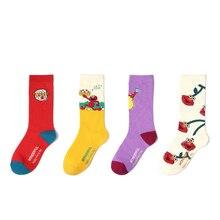 Best Selling Korean Cartoon Series Cute Casual Fashion Comfortable Fun Socks 2019 Colorful Anime Image Cotton