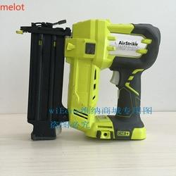 Аутентичный Ming Liang RYOBI Ryobi P32018V перезаряжаемый прямой пистолет для ногтей 15 мм 50 мм (используемый продукт)
