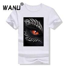 Модная женская футболка на заказ с 3D принтом «Глаз Дракона», «Песнь Льда и Огня», забавная крутая футболка с коротким рукавом, Nisex