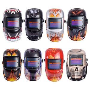Image 1 - 8 Styles Welding Helmet Auto Darkening Darkening Welding Multifunction Protective Welding Mask UV Protection Lens Tig Helmets