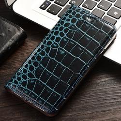 На Алиэкспресс купить чехол для смартфона crocodile print flip leather genuine case for sharp aquos sense3 zero2 lite plus cell cover