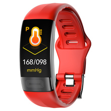 P11 ECG+PPG Smart Bracelet Heart Rate Fitness Tracker Watches Blood Pressure Bluetooth Waterproof Wearable Devices