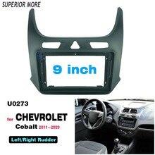 2 Din 9 Inch Radio Fascias Dành Cho Xe Chevrolet Cobalt 2011 2020 Bảng Đồng Hồ Khung Lắp Đặt DVD Gps Mp5 Android người Chơi