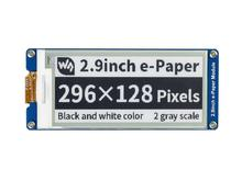 2.9 inç e mürekkep ekran 296x128 e kağıt modülü SPI kısmi yenileme desteği Ultra düşük güç tüketimi geniş görüş açısı