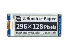 2,9 zoll E Ink Display Bildschirm 296x128 E Papier Modul SPI Unterstützung Teil Aktualisieren Ultra Low power Verbrauch Breite Betrachtung Winkel