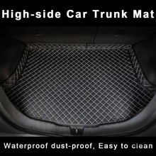 Custom Car Trunk Mat for qx30 smart 451 fortwo nissan bluebird sylphy ford kuga 2018 audi q8 Car Accessories Cargo Liner Mat(China)