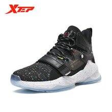 Мужская обувь для баскетбола xtep Новое поступление амортизирующая