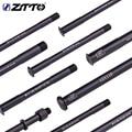 ZTTO MTB 12mm 15mm Thru axle Road Bike Shaft Front Rear hub Skewers Wheel Axis Hub Shaft 15x100 12x142 12x100 12x148 15x110