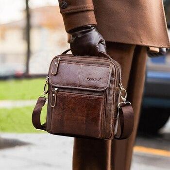 Cobbler Legend Brand Genuine Leather Business Bag 2020 Shoulder Bags High Quality