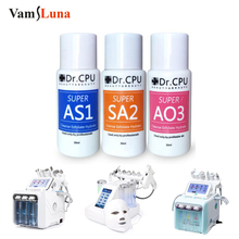 3*30ml Concentrated Aqua Peeling Solution AS1 SA2 AO3 Serum For Hydra Dermabrasion Beauty Machine Deep Cleansing Face Care