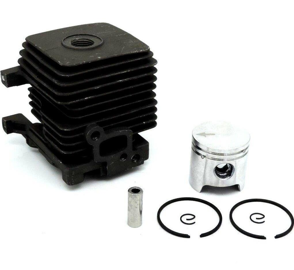 34MM CYLINDER KIT FOR <font><b>STIHL</b></font> BG/BT/BR/FC/GS/HS/HL/SH/KM/<font><b>FS38</b></font> FS45 GS46 38 FS55 65 FS85 TRIMMER PISTON RING ASSEMBLY 4140 020 1202 image
