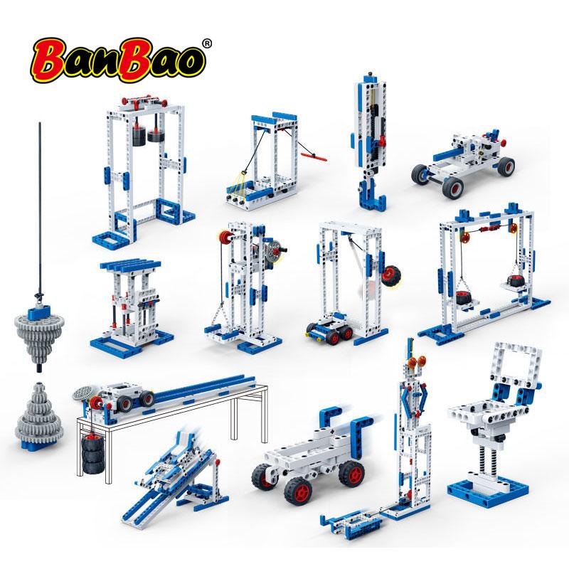 BanBao 6919 Force Power Exploration Science Technic Experiment Gear Blocks