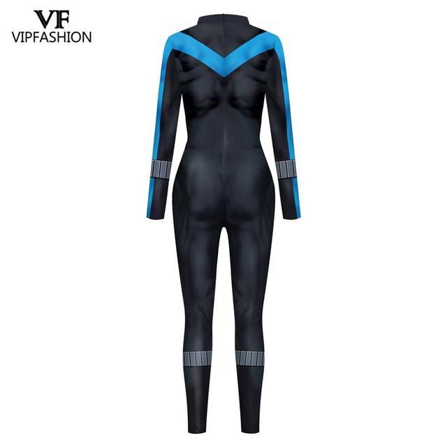 VIP 패션 새로운 코스프레 의상 슈퍼 히어로 애니메이션 젠타이 양복 바디 수트 할로윈 의상 남성을위한