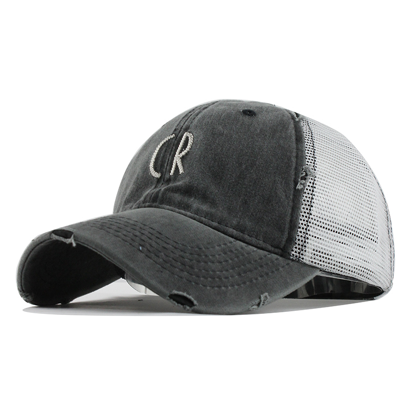 Mesh Baseball Cap For Women Men'S Summer Fitted Cap Snapback Dad Hat For Men Bone Gorra Casquette Fashion Hat#B519 4