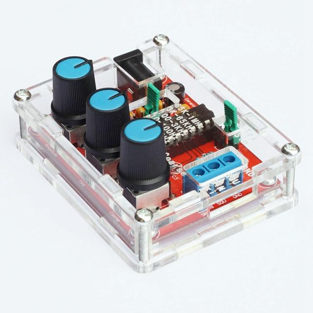 A6-функциональный генератор сигналов, набор «сделай сам», синусоидальный/треугольный/квадратный выход, частота сигнала 1 Гц-1 МГц, амплитуда ...