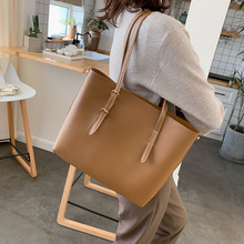 цена на Tote bag bucket bag female large capacity oblique carry portable temperament women leather shoulder bag  luxury bag рюкзак Сумка