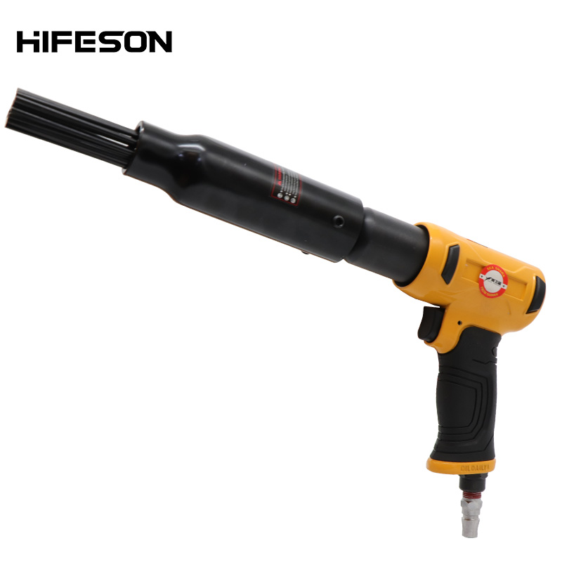 Pneumatic Air Needle Scalers Rust Removal Gun 190W Air Hammer Small Rust Remover Tools